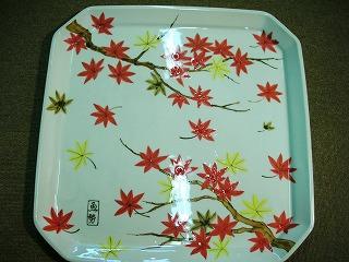 季節の絵皿